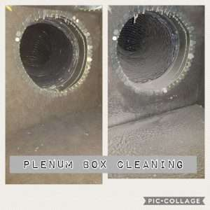 flexible duct cleaning